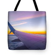 Airplane Window Tote Bag