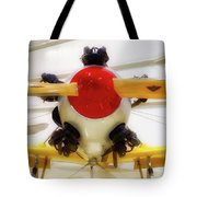 Airplane Wooden Propeller And Engine Pt 22 Recruit 02 Tote Bag