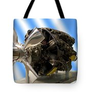 Airplanes Prop And Engine Tote Bag