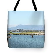 airport on Corfu island Greece Tote Bag
