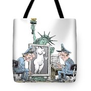 Airport Security And Liberty Tote Bag