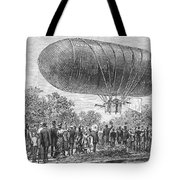 Airship Ascent, 1883 Tote Bag
