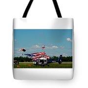 Airshow Opening Tote Bag