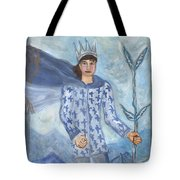 Airy King Of Wands Tote Bag