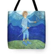 Airy Page Of Wands Tote Bag