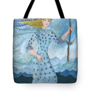 Airy Queen Of Wands Tote Bag
