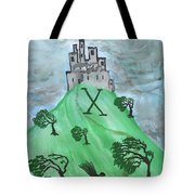 Airy Ten Of Wands Illustrated Tote Bag