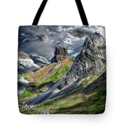 Aisa Valley Scenic Tote Bag