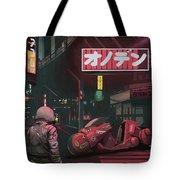 Akira Tote Bag by Scott Listfield
