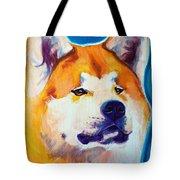 Akita - Apricot Tote Bag