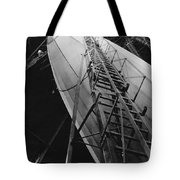 Akron Dirigible Construction Tote Bag