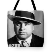 Al Capone Mugshot Painterly Tote Bag