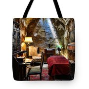 Al Capone's Cell - Scarface - Eastern State Penitentiary Tote Bag