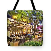 Al Fresco Dining Tote Bag by Chuck Staley