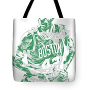 Al Horford Boston Celtics Pixel Art 6 Tote Bag