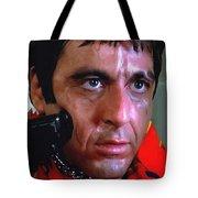 Al Pacino @ Scarface #1 Tote Bag