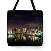 Ala Wai Boat Harbor Tote Bag