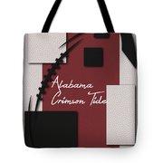 Alabama Crimson Tide Art Tote Bag