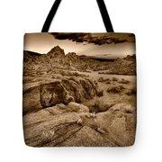 Alabama Hills California B W Tote Bag