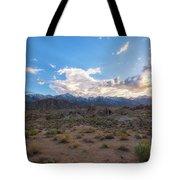 Alabama Hills Sunset  Tote Bag
