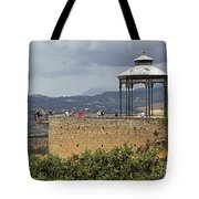 Alameda De Jose Antonio In Ronda Spain Tote Bag