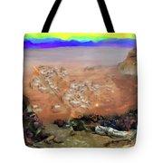 Alamo Frontiersmen Tote Bag