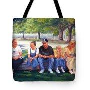 Alamo Pilgrims Tote Bag