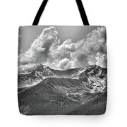 Alaska Black II Tote Bag