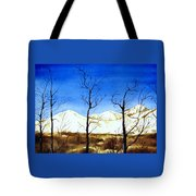 Alaska Blue Sky Day  Tote Bag