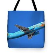 Alaska Boeing 737-490 N791as Tinker Bell Phoenix Sky Harbor January 12 2016 Tote Bag