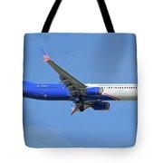 Alaska Boeing 737-900 N265ak Honoring Those Who Serve Phoenix Sky Harbor November 12 2017 Tote Bag