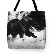 Alaska: Brown Bear Tote Bag