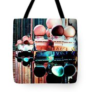Alaska Building Lights Tote Bag