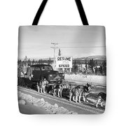 Alaska: Dog Sled, C1950 Tote Bag