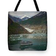Alaska Endicott Glacier Tote Bag