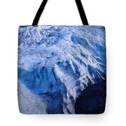 Alaska Exit Glacier Tote Bag
