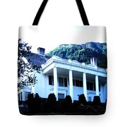 Alaska Governors Mansion Tote Bag