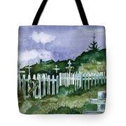 Alaska Graveyard  Tote Bag