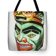 Alaska Masks Tote Bag
