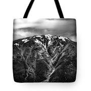 Alaska Mountain Range Tote Bag