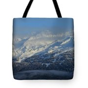 Alaska Mountain View Tote Bag
