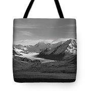 Alaska Range Center Panel Tote Bag