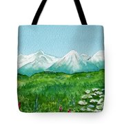 Alaska Splendor Tote Bag