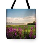 Alaska Summer Love Tote Bag