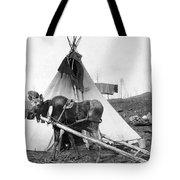 Alaska: Tepee, C1916 Tote Bag