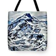 Alaska Volcano Tote Bag