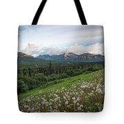 Alaskan Dandelions  Tote Bag