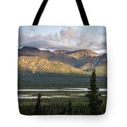 Alaskan Glacial Valley Tote Bag