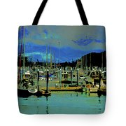 Alaskan Harbor 7 Tote Bag