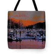 Alaskan Harbor 8 Tote Bag